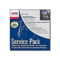 APC Extended Warranty Service Pack - technical support - 1 year