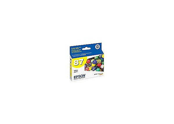 Epson T087420 Yellow Ink