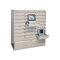 PSSI Dock & Lock 4852-L-24 - notebook security cabinet