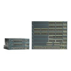 Cisco Catalyst 2960-24PC-L - switch - 24 ports - managed - rack-mountable
