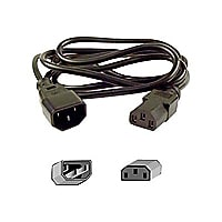 Belkin 20' Computer AC power extension cord (IEC 320 C13 to IEC 320 C14)