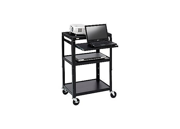 "Bretford Presentation Cart with 5"" Casters and 6-Outlet Electrical"