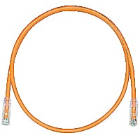 PANDUIT 25'CAT6 UTP TX6 MODULAR PATCH CORD ORANGE