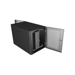 Great Lakes WE Server Side Wall Mount GL24WE cabinet - 10U