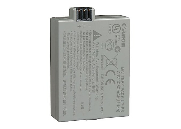Canon LP-E5 - camera battery - Li-Ion