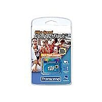 Transcend Ultra Performance - flash memory card - 128 MB - CompactFlash