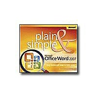 Microsoft Office Word 2007 - Plain & Simple - reference book