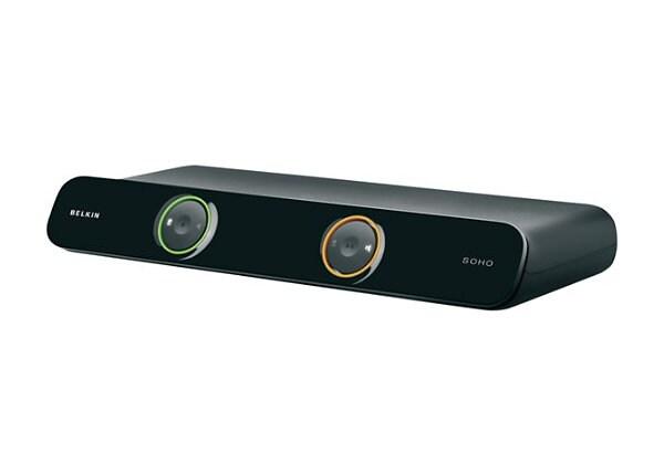 Belkin SOHO KVM Switch DVI & USB - 2 ports - Desktop KVM