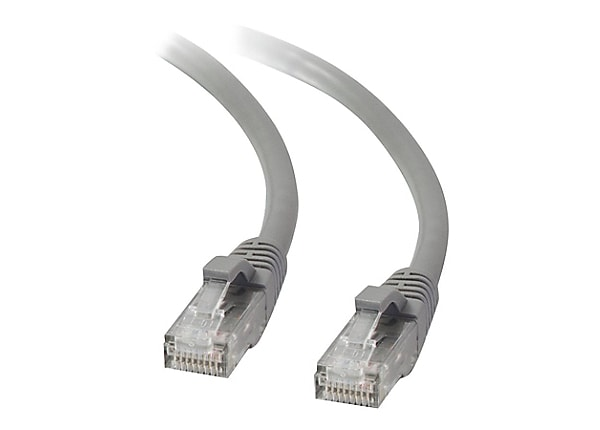 C2G 7ft Cat5e Snagless Unshielded (UTP) Network Patch Ethernet Cable - Gray