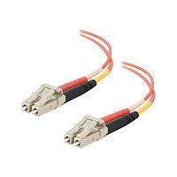 C2G 2m LC-LC 50/125 Duplex Multimode OM2 Fiber Cable - Orange - 6ft - patch