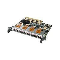Cisco 8-port OC-12c/STM-4 Packet over SONET Shared Port Adapter - expansion