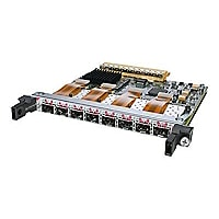 Cisco 8-Port OC-3c/STM-1c POS Shared Port Adapter - expansion module - 8 po