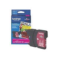 Brother LC-65HY-M - High Yield - magenta - original - ink cartridge