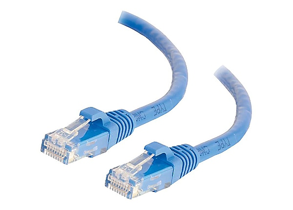 C2G 10ft Cat6 Ethernet Cable - Snagless Unshielded (UTP) - Blue - patch cab