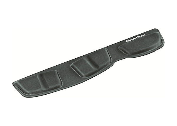 Fellowes® Keyboard Palm Support with Microban® - Graphite