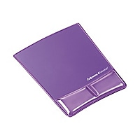 Fellowes® Wrist Support with Microban® - Purple Gel