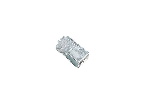 Black Box CAT5e Unshielded RJ45 SOLID WIRE Modular Plug / Connector 25 Pack