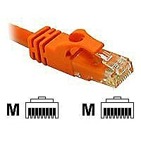 C2G 5ft Cat6 Snagless Unshielded (UTP) Network Crossover Patch Cable - Oran
