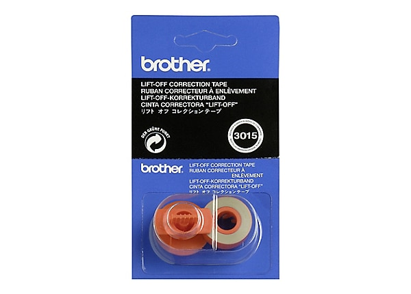 Brother Lift Off Tape (6 pack)