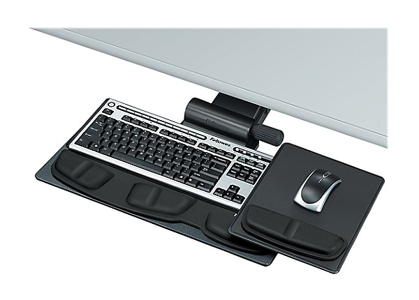 Fellowes Professional Series Adjustable Keyboard Tray - keyboard/mouse tray