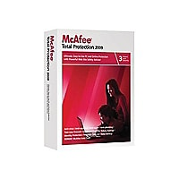 McAfee Total Protection 2009 - box pack - 3 users