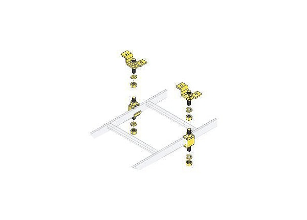 Middle Atlantic CL Series CLH-5/8CHK - slotted ladder ceiling mounting kit
