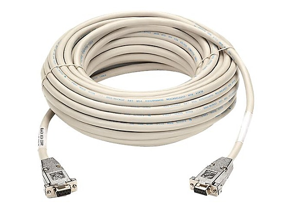 Black Box null modem cable - 6 ft