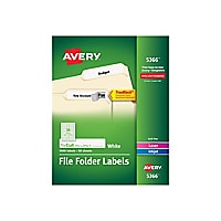 Avery White Filing Labels