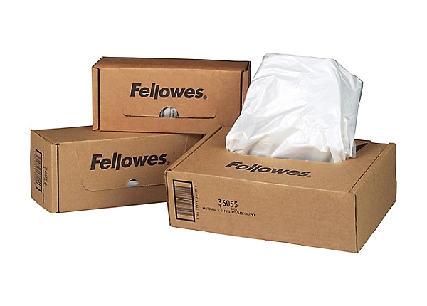 Fellowes Powershred® Waste Bags for Personal Shredders