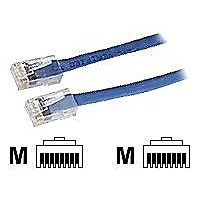 Black Box CAT6 Solid-Conductor Backbone Cable network cable - 25 ft - blue