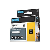 Dymo IND - flexible label tape - 1 roll(s) - Roll (1.9 cm x 4 m)