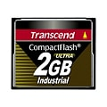 Transcend Ultra Speed Industrial - flash memory card - 2 GB - CompactFlash