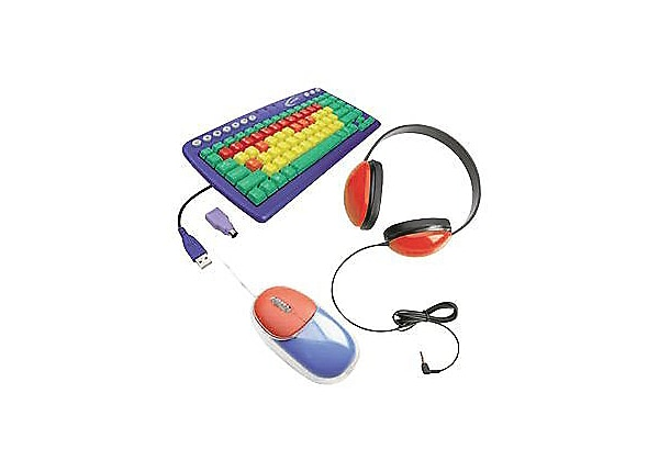 Califone Kids Computer Package - keyboard and mouse set