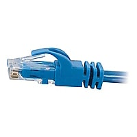 C2G 25ft Cat6 550 MHz Snagless Patch Cable - Blue - 25pk