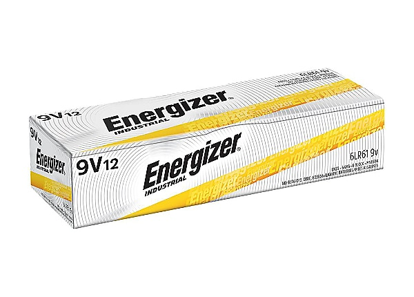 Energizer EN22 battery x 6LF22 - alkaline (pack of 12)