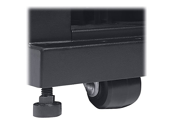 Tripp Lite Rack Enclosure Cabinet Mobile Rolling Caster Kit 2200lb Capacity