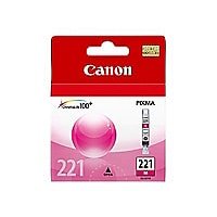 Canon CLI-221 - magenta - original - ink tank