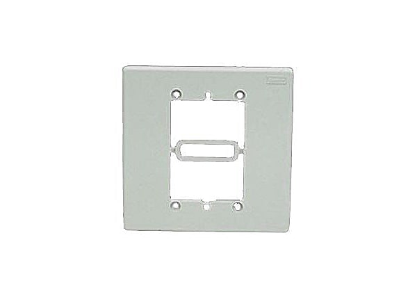 Panduit In-Wall Box Adapter - plate mount adapter