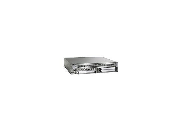 Cisco ASR 1002 - router - desktop, rack-mountable - with Cisco ASR 1000 Ser