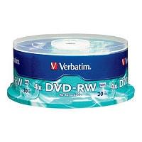 Verbatim - DVD-RW x 30 - 4.7 GB - storage media