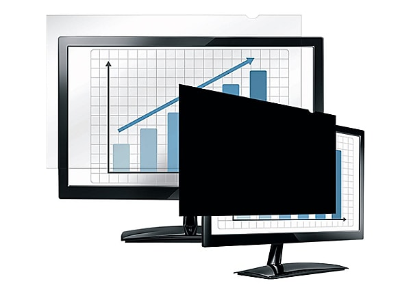 "Fellowes 24"" PrivaScreen Blackout Privacy Filter"