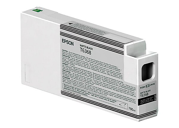 Epson UltraChrome HDR - matte black - original - ink cartridge