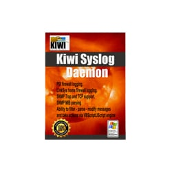 Kiwi Syslog Server - Single Install - License with 24 month maintenance