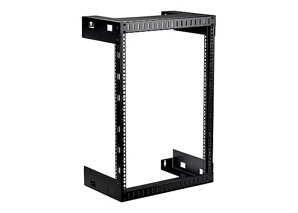 "Black Box 15U, 12"" Deep Open Frame Rack"
