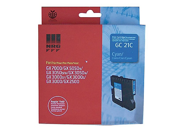 Ricoh GC 21C - cyan - original - ink cartridge
