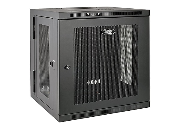 Tripp Lite 12u Wall Mount Rack Enclosure Server Cabinet Hinged Wallmount Srw12us Rack Mounting Equipment Cdw Com