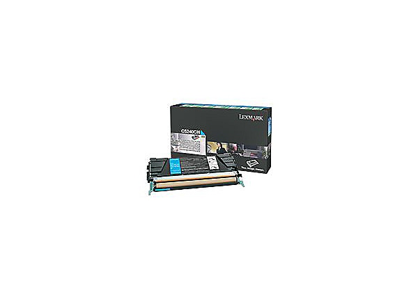 Lexmark - High Yield - cyan - original - toner cartridge