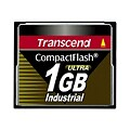 Transcend Ultra Speed Industrial - flash memory card - 1 GB - CompactFlash