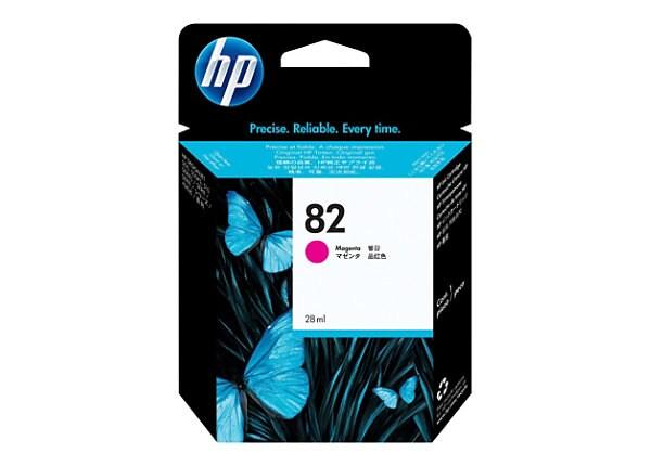 HP 82 - magenta - original - DesignJet - ink cartridge