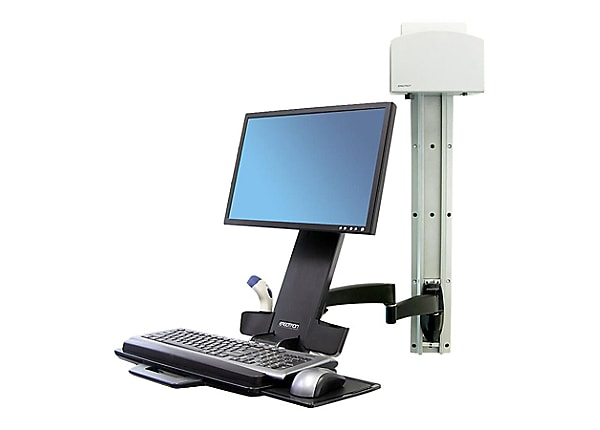 Ergotron 200 Series Wall Mount Combo Arm